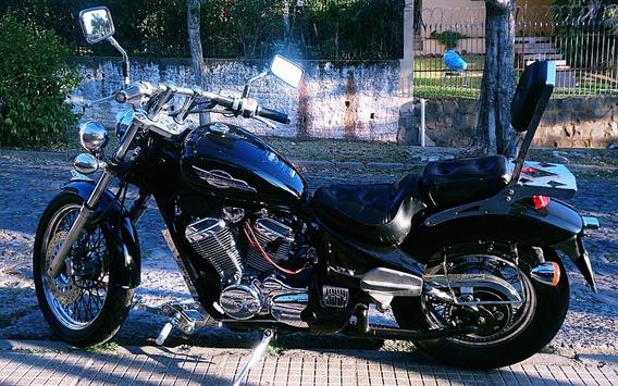 Honda Black Shadow Custom