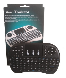 Mini Teclado Wireless Sem Fio Touch Pad Para Smart Tv