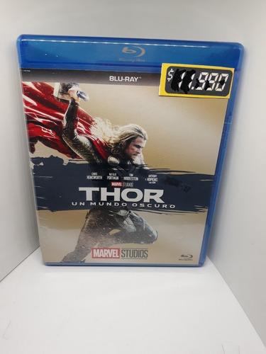 Thor Un Mundo Oscuro Pelicula Bluray Marvel