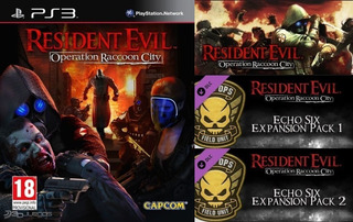 Resident Evil Operation Raccoon City + Dlc ~ Ps3 Digital