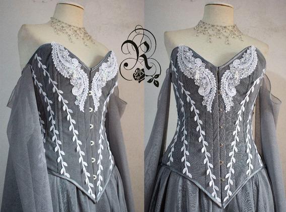 Hermoso Vestido De Alta Costura Marca Romantiside