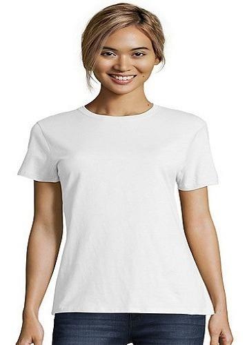 Remera Modal Mujer Sublimar No Hace Pelotitas ! Saadtex Once