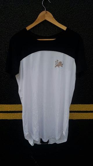 Camiseta Oversized Longline Camisa Blusa Masculina Lookfilds