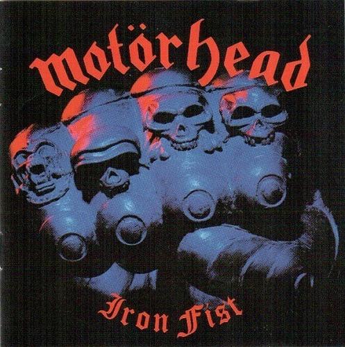 Motörhead  Iron Fist-   Cd Album Remastered Importado