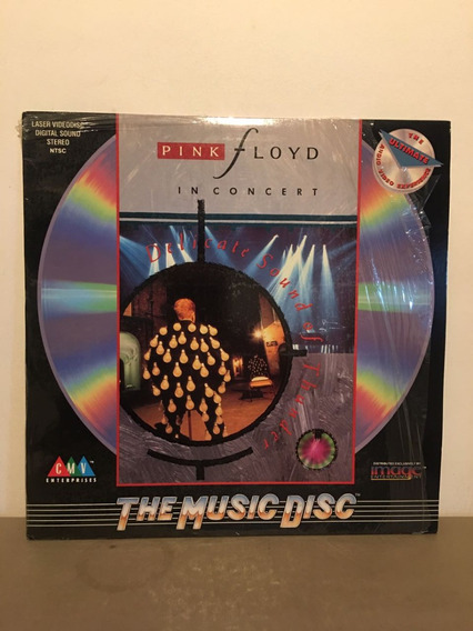 Pink Floyd In Concert Delicated Sound Of Thunder . Laserdisc