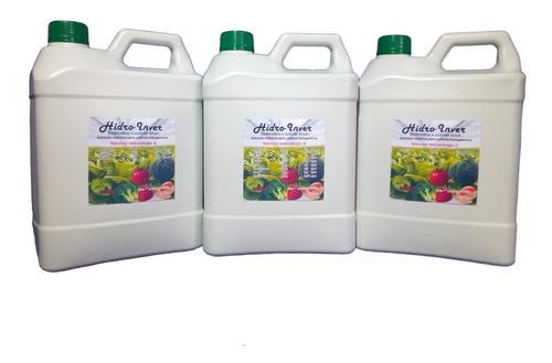Solución Nutritiva Para Lechuga Hidropónica.