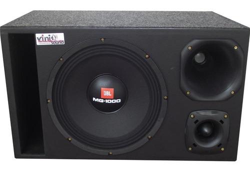 Caixa Trio Woofer Mg-1000 + D200 + St200