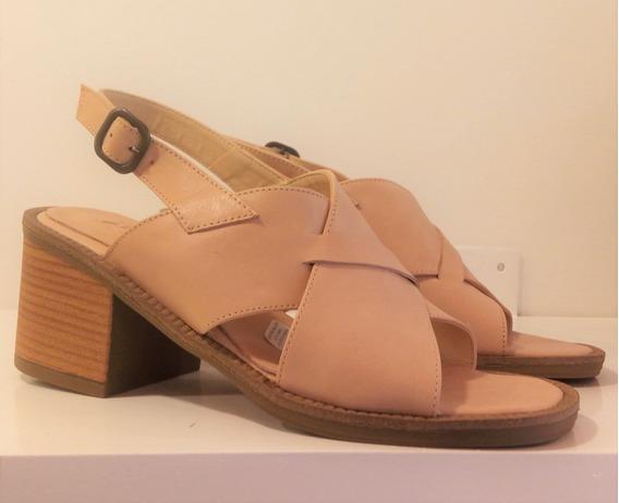Sandalias Mujer Cuero Riot Art 3344 Zona Zapatos