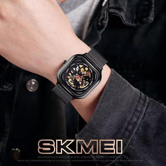 Skmei Reloj Mecánico Automático Moda Para Hombre