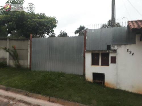 Galpão Para Alugar, 400 M² Por R$ 2.000/mês - Lagoa Da Prata - Itapecerica Da Serra/sp - Ga0017