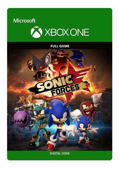 Sonic Forces Edição Digital Padrão - Código - Xbox One