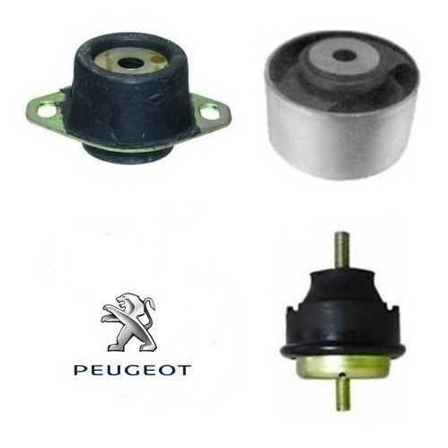 Calço Coxim Motor Peugeot 206 207 1.4 8v 1ª Linha