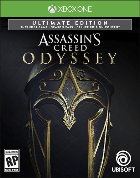 Jogo Assassins Creed Odyssey Ultimate Edition Xbox One