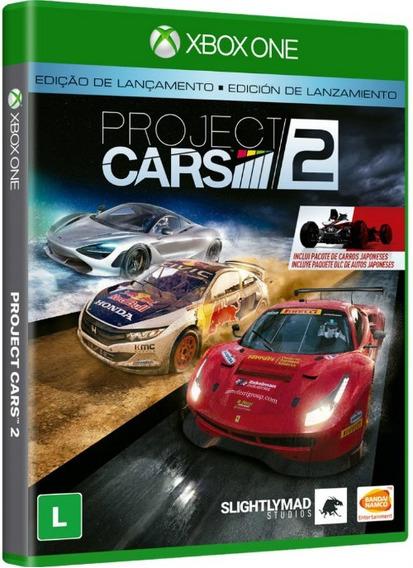 Project Cars 2 Edição De Lançamento - Xbox One Mídia Física