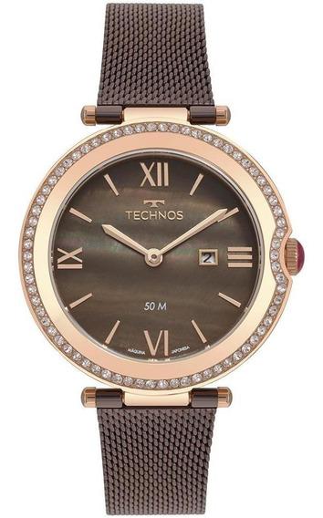 Relógio Feminino Technos St.moritz Rosé - Original