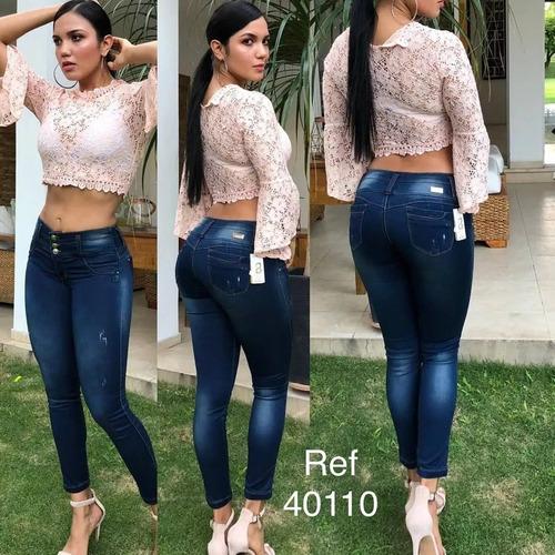 Pantalones Jeans Nueva Moda Para 2019 Ropa de Mujer Colombianos Levanta Cola