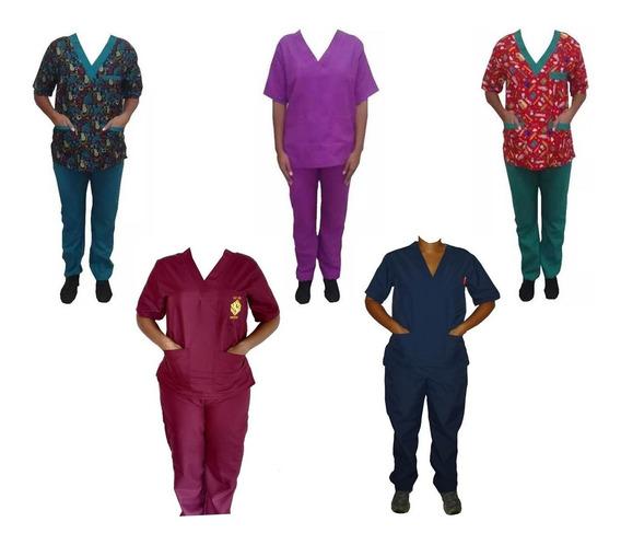 Uniforme Medico Enfermera Mantenimiento Dama Conjunto Comple