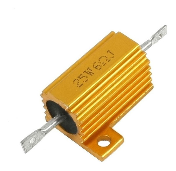 Kit 6 Resistores 25w Canceler Canbus Led Xenon Farol Seta Ré