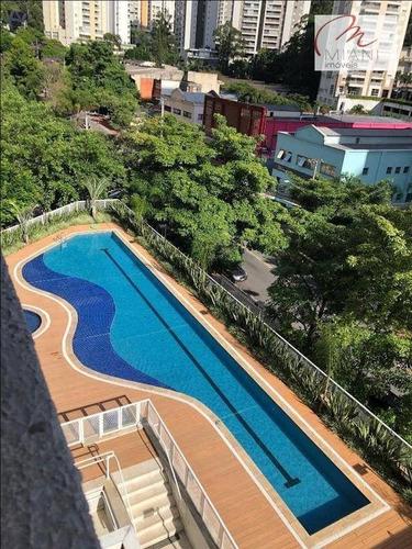 Imagem 1 de 14 de Apartamento À Venda, 106 M² Por R$ 695.000,00 - Vila Andrade - São Paulo/sp - Ap7420