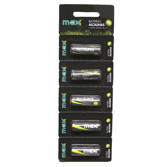 Bateria Alcalina Maxprint A27 5 Unidades - 12v