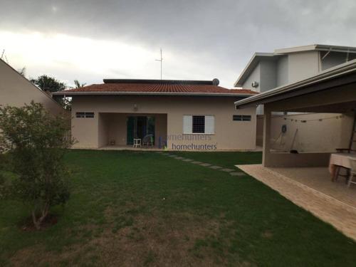 Casa Com 3 Dormitórios À Venda, 229 M² Por R$ 1.100.000,00 - Loteamento Alphaville Campinas - Campinas/sp - Ca4220