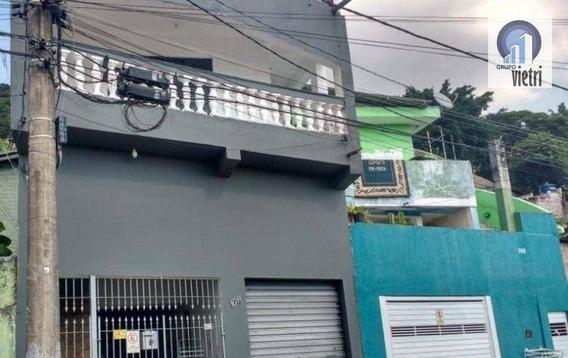 Sobrado Residencial À Venda, 4 Dorm - 1 Vaga - Laranjeiras, Caieiras. - So2078