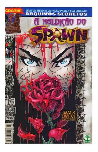 A Maldição Do Spawn 7 Gibi Abril Jovem Image Comics