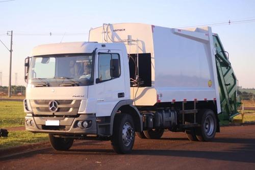 Imagem 1 de 11 de Locação De Caminhão Compactador/coletor De Lixo