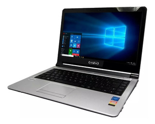 Laptop Compax S4000 W10pro Celeronn3060 4gb 500gb Dvd+office