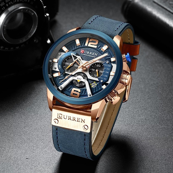 Relógio Curren Luxo Esportivo
