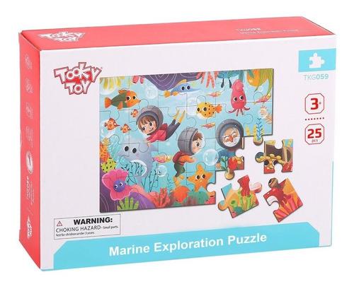 Puzzle Madera Marino De Tooky Toy (tkg059)
