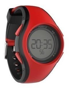Relógio Esportivo Digital Kalenji Vermelho Com Timer W200 M