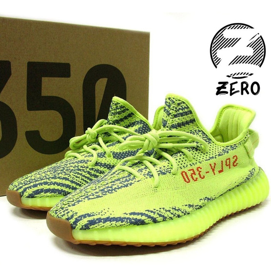 Tenis adidas Yeezy Boost 350 V2 Semi Frozen Yellow