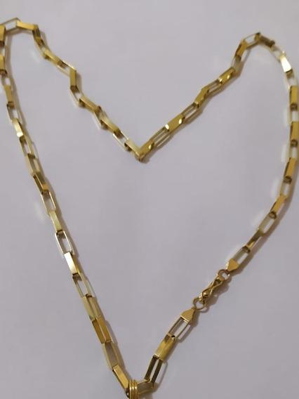 Cordão De Ouro 18k Masculino Com Exatamente 20 Gramas. 60cm