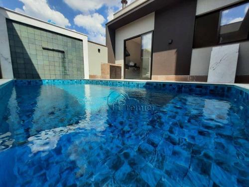 Casa Com 3 Suítes À Venda, 190 M² Por R$ 1.270.000 - Condomínio Maria José - Indaiatuba/sp - Ca2294