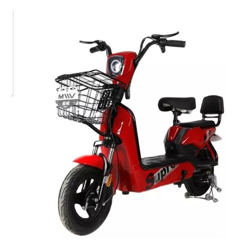 Litio Moto Scooter Eléctrica 350w Nueva Batería Litio