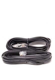 Lote De Cable Telefonico Negro 4 Hilos 2.1-2.9 Mts (50 Pz)