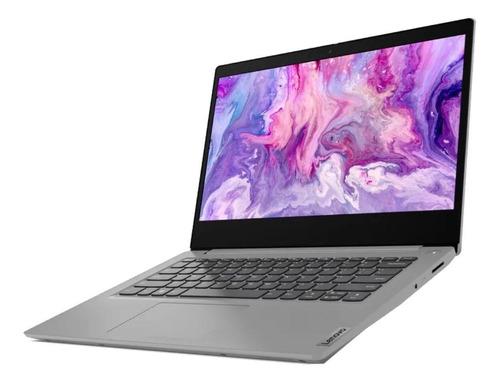 "Notebook Lenovo IdeaPad 14IIL05  platinum gray 14"", Intel Core i5 1035G1  8GB de RAM 512GB SSD, Gráficos Intel UHD G1 1920x1080px Windows 10 Home"