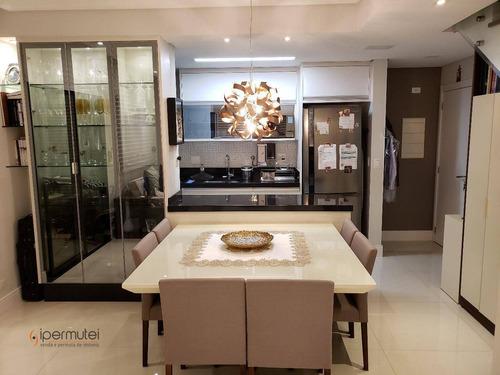 Linda Cobertura Com 2 Dormitórios À Venda, 107 M² - Alto Da Boa Vista - São Paulo/sp - Co0048