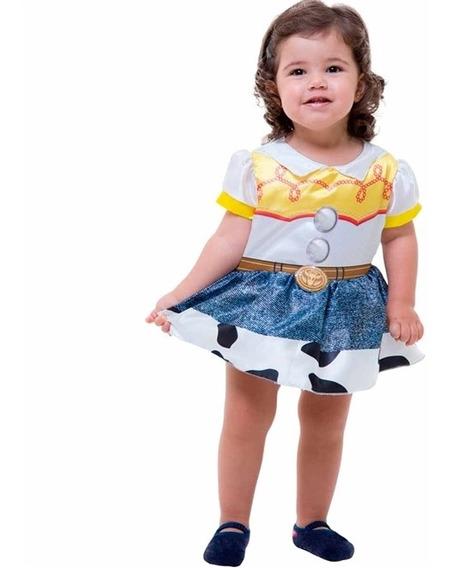 Fantasia Jessie Bebê Toy Story Disney