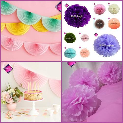 Imagen 1 de 7 de Kit Decorativo Para Fiestas De Cumpleaños Y Eventos