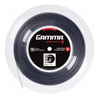 Rollo Cuerdas Gamma Moto Soft Monofilamento Tenis - Estacion Deportes Olivos