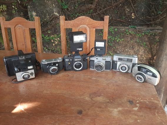 Lote De 6 Câmeras Antigas