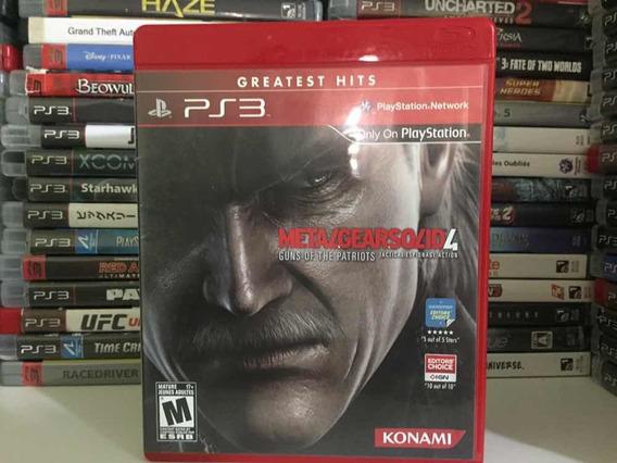 Jogo Ps3 - Metal Gear Solid 4 - Frete Barato