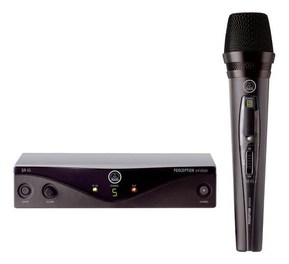 Microfone sem fio AKG PW45 Vocal Set cardióide preto