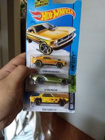 Lote De 3 Hot Wheels Mustang Lacrados!
