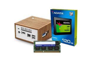 Computadora Pc Mini Intel Dual Core Ssd 120gb Ram 8gb Hdmi