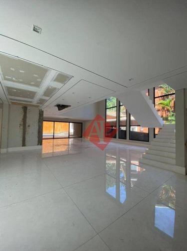 Imagem 1 de 23 de Sobrado Com 5 Dormitórios À Venda, 1200 M² Por R$ 12.000.000,00 - Tamboré 02 - Santana De Parnaíba/sp - So0361