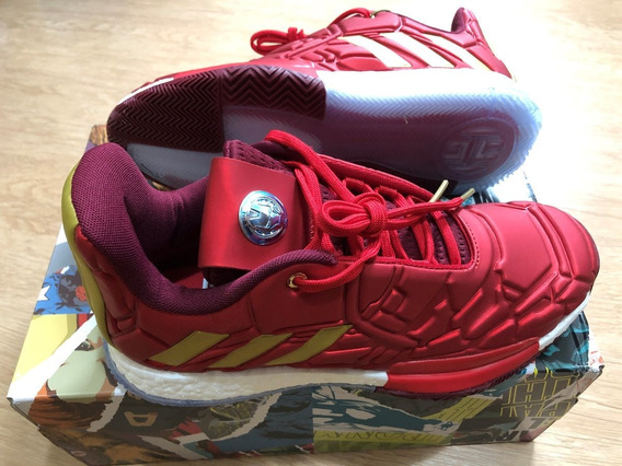 Tênis adidas Harden Vol 3 Marvel Iron Man Ed. Limit Tam 38