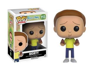 Funko Pop Morty #113 De Rick And Morty Jugueterialeon